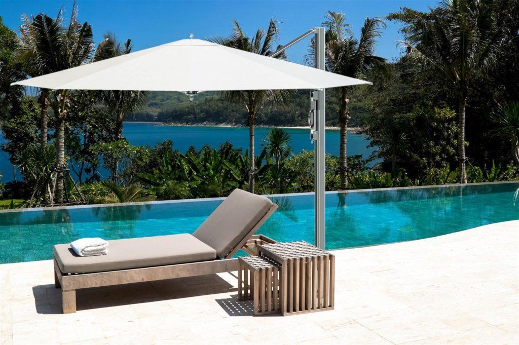 swimming pool in villa hotel trisara phuket thailand