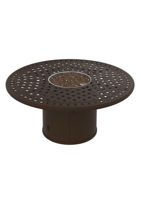 """Fire Pit 55"""" Round Garden Terrace Pattern (Round Base)"""