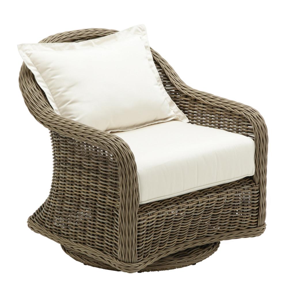 Gloster 2612 Havana Swivel Glider Lounge Chair