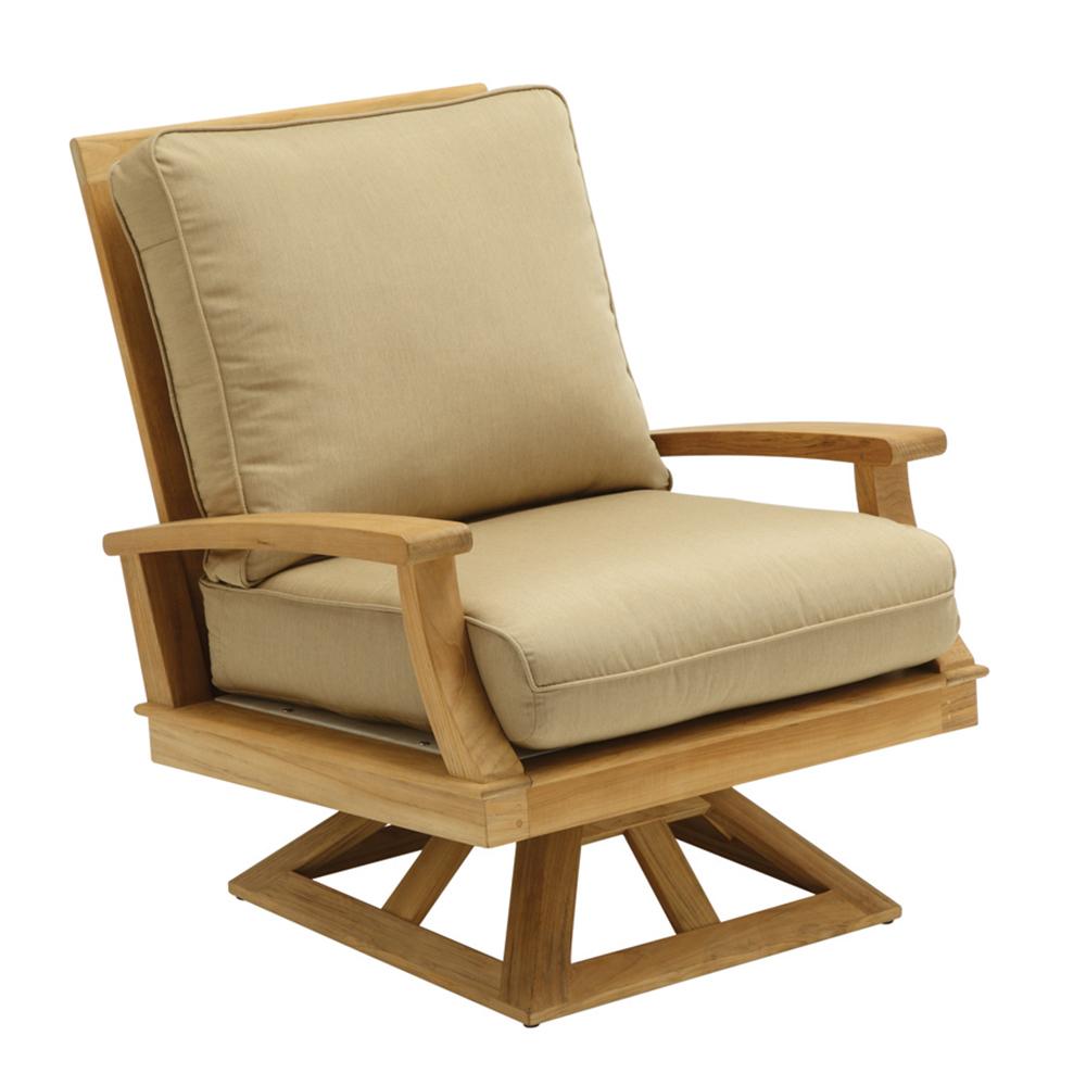 Gloster 445 Ventura Swivel Rocker Lounge Chair