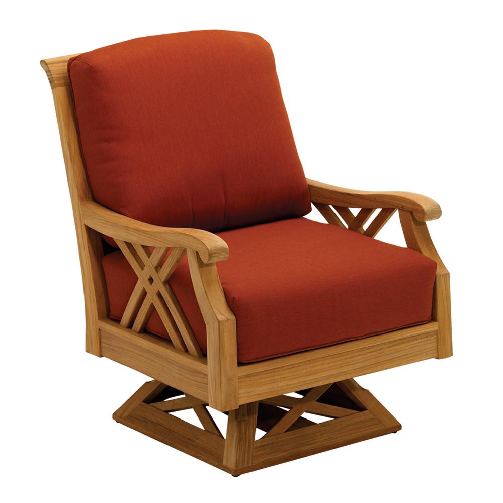 Gloster 513 Halifax Swivel Rocker Lounge Chair