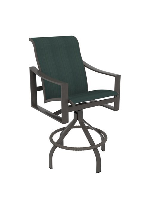 kenzo sling barstool with 25 seat height hauser 39 s patio. Black Bedroom Furniture Sets. Home Design Ideas