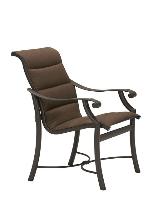 Montreux Padded Sling Dining Chair Low Back Hauser S Patio