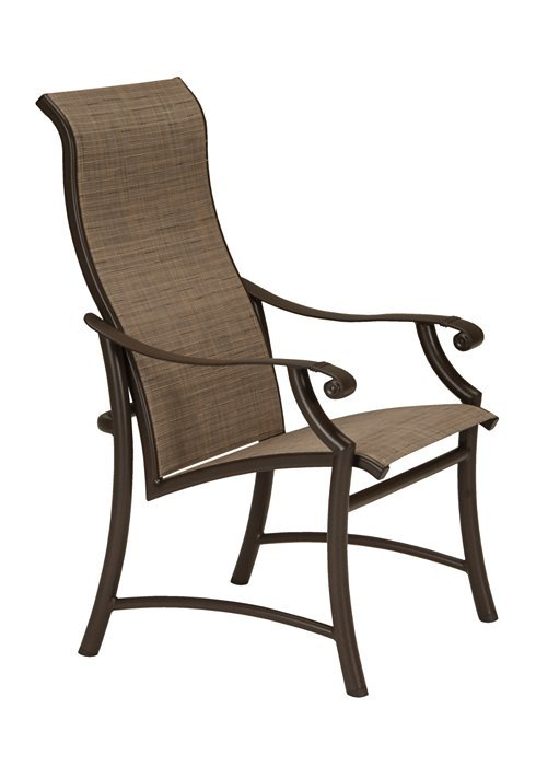 Montreux Ii Sling Dining Chair High Back Hauser S Patio
