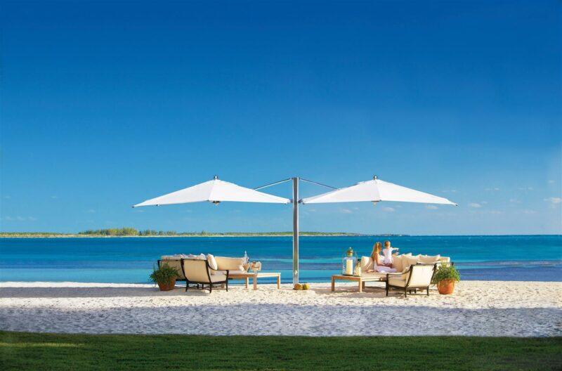 Ocean Max classic dual cantilever umbrella