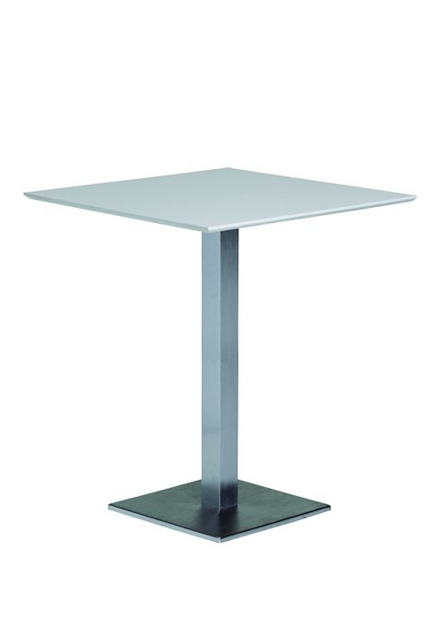 Bar Table Square Pedestal Base Hausers Patio - Square pedestal pub table