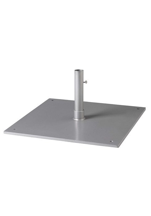 Steel Plate Umbrella Base 24 Quot Square 1 5 Quot Pole Table