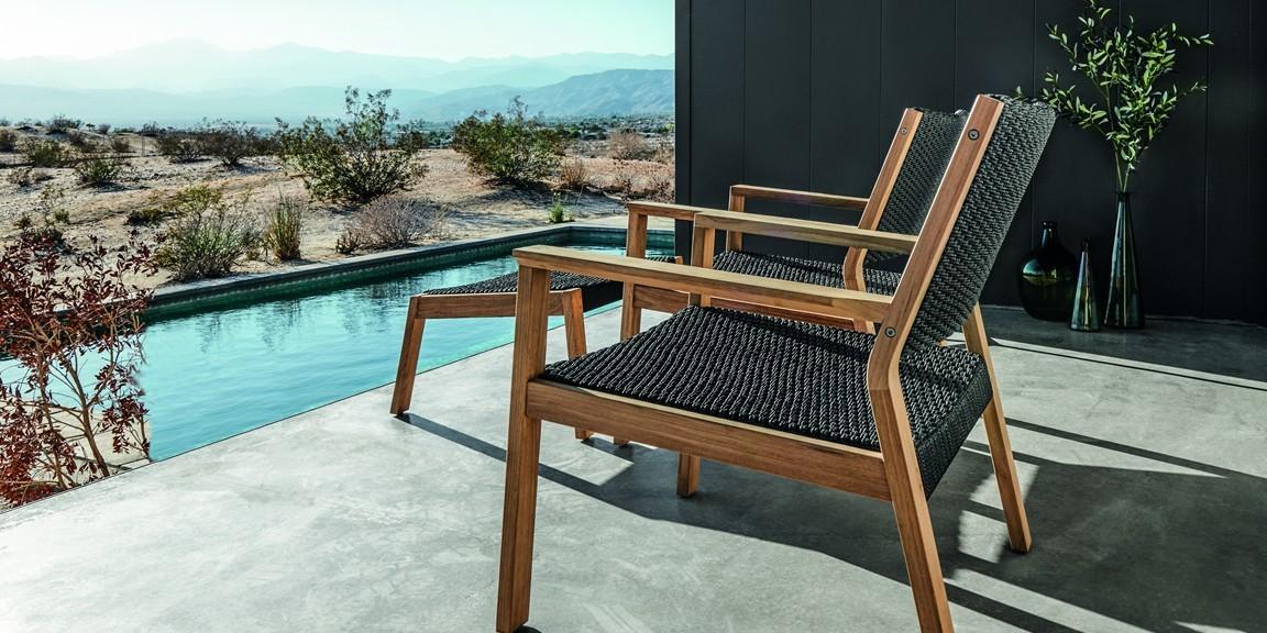 Barlow Tyrie teak chair