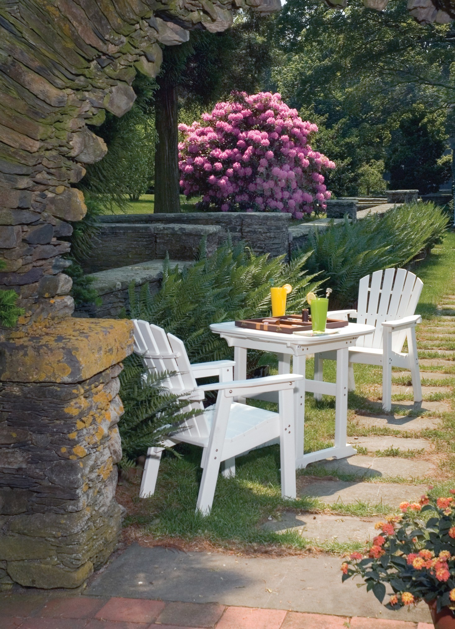 Adirondack Classic Balcony Chair Hauser S Patio