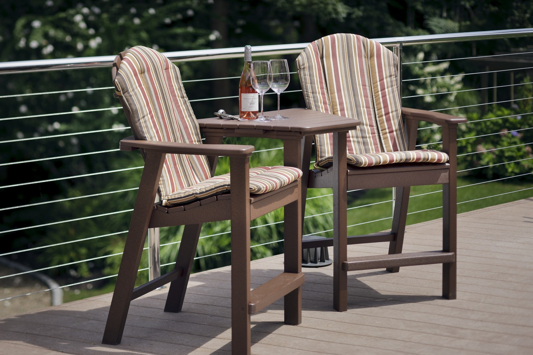 Adirondack Shellback Balcony Chair Hauser S Patio
