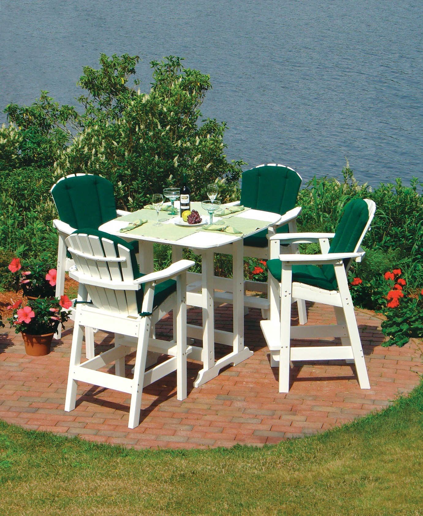 Portsmouth 42 Quot Square Bar Table Hauser S Patio