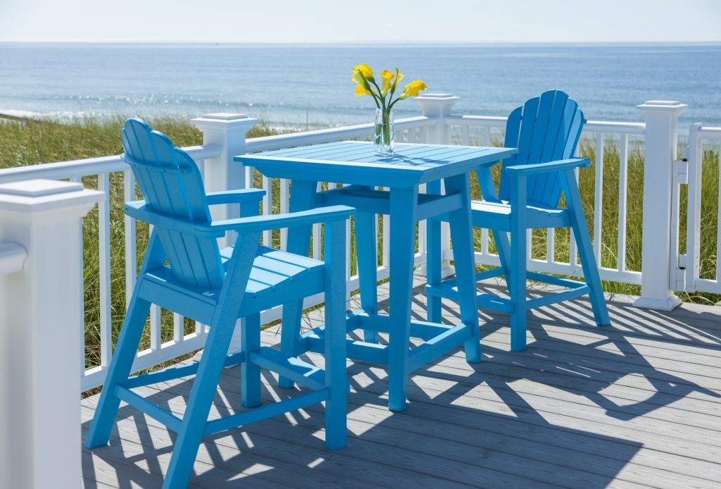 Seaside Casual Adirondack Bar Seat
