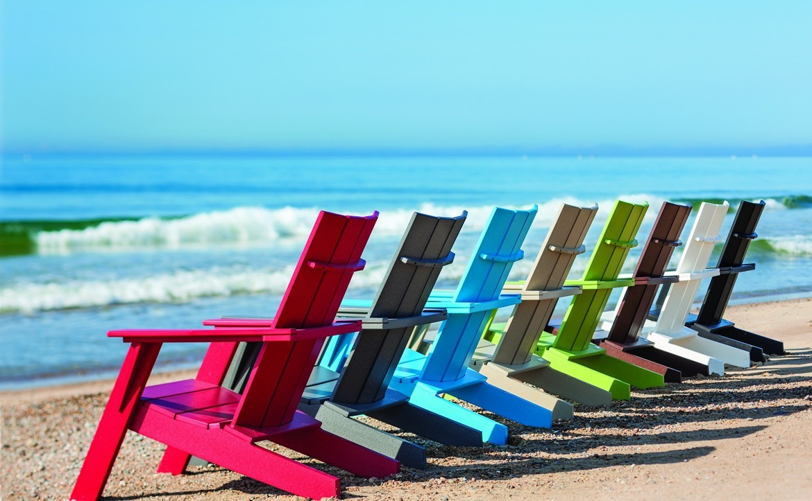 seaside-casual-adirondack chairs