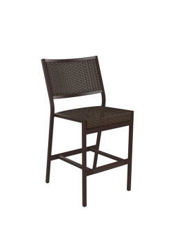 Cabana Club Aluminum Woven Barstool Counter Height