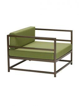 Cabana Club Aluminum Cushion Arm Chair
