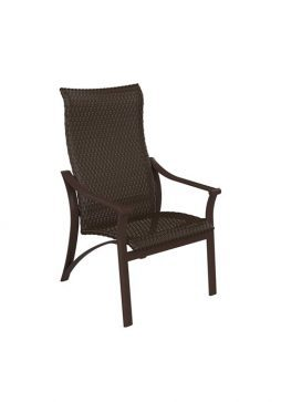 Corsica Woven Dining Chair High-Back