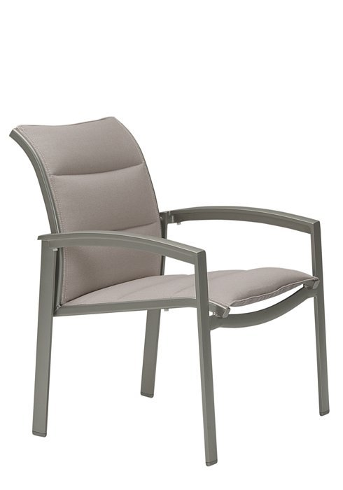 Tropitone Patio Chairs: Elance Padded Sling Dining Chair