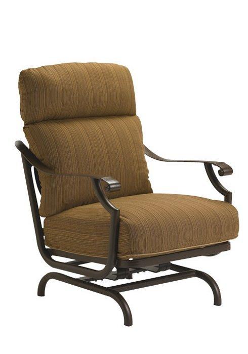 Tropitone Patio Chairs: Montreux Cushion Action Lounger