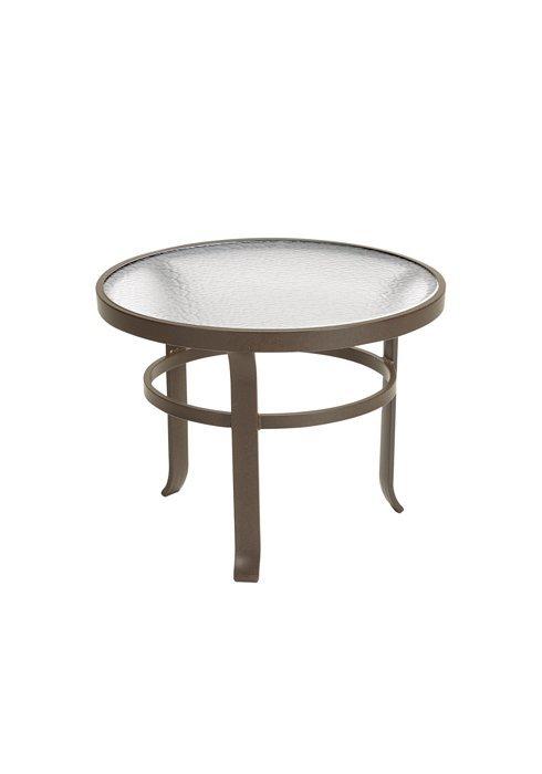 Tea Table 24 Quot Round Acrylic Hauser S Patio