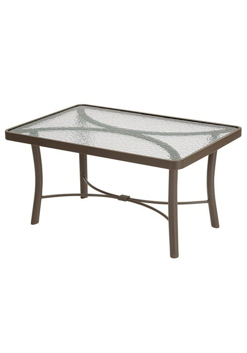Coffee Table 36 X 24.Coffee Table 36 X24 Rectangle Obscure Glass Hauser S Patio