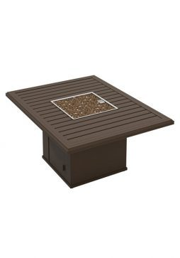 """Fire Pit 54""""X42"""" Rectangle Banchetto"""