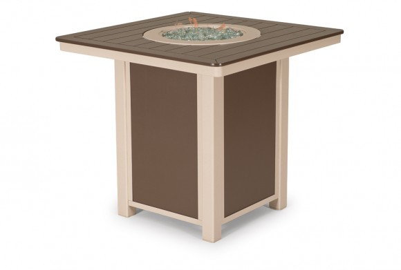 """32"""" Square MGP Dining Fire Table"""