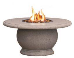 Amphora Fire Table w/ Concrete Top