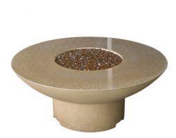 Amphora Firetable w/ Granite Inserts