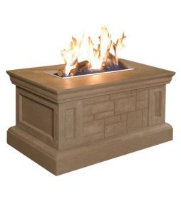 Rectangle Fire Table