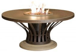 Fiesta Dining Height Fire Table