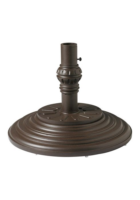 round cast iron umbrella base