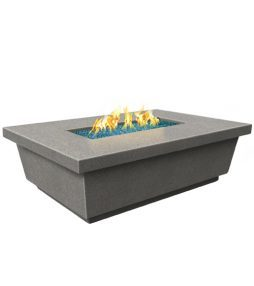 Contempo Rectangle Fire Table