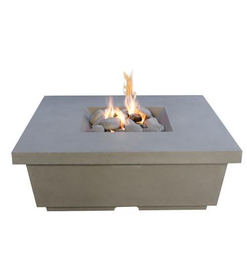Contempo square fire table American Fyre