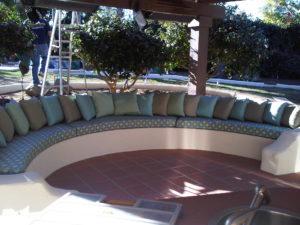 Custom Bench Cushion