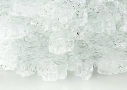 """1/2"""" Crystal Ice Fire Glass"""