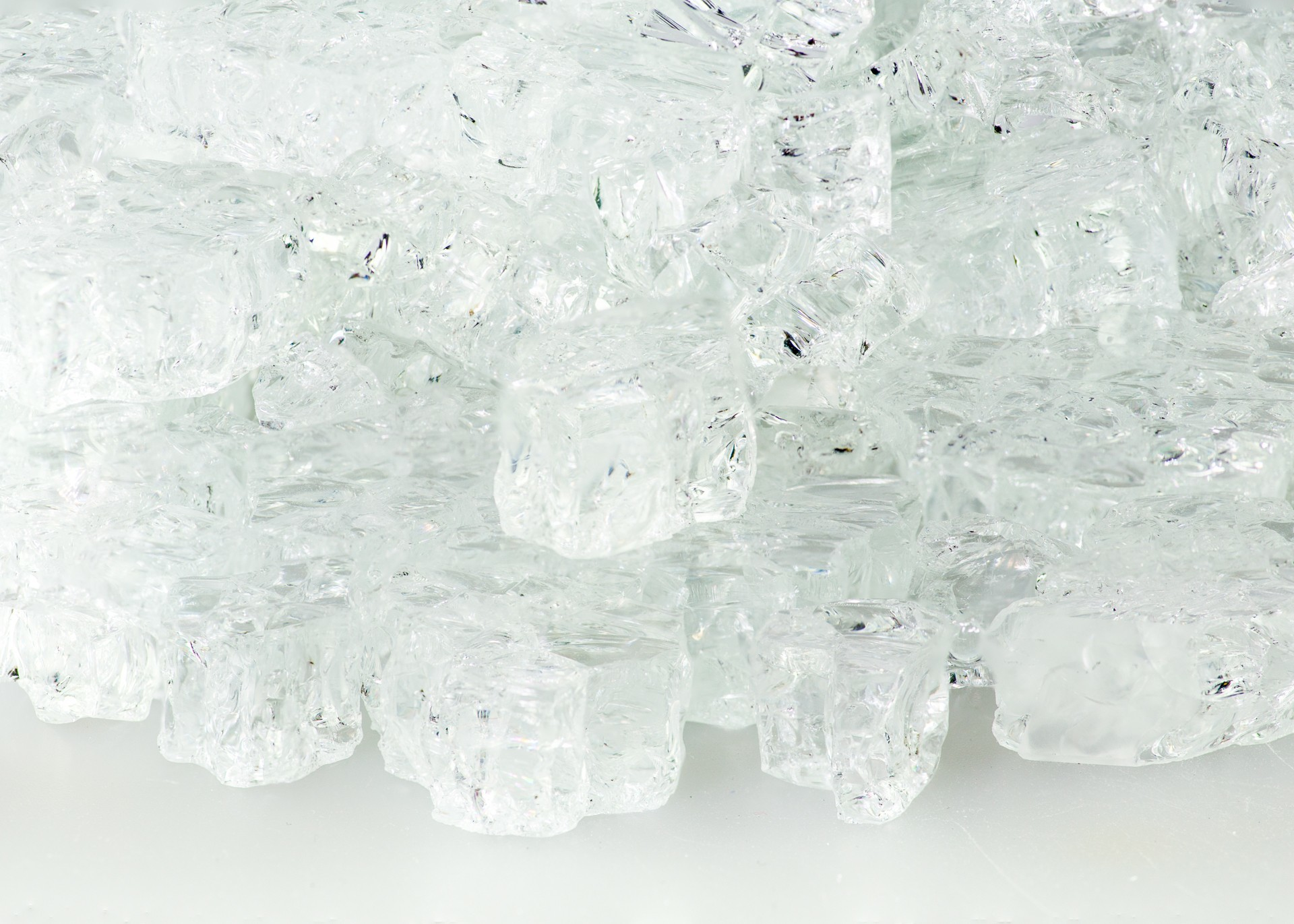 1 2 Quot Crystal Ice Fire Glass Hauser S Patio