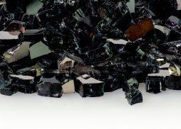 "1/2"" Midnight Black Reflective  Fire Glass"
