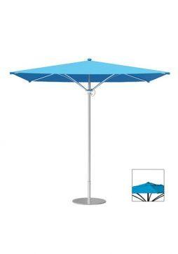 Trace-Square-Manual-Lift-Vent-Umbrella