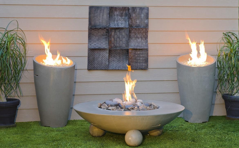 American Fyre Designs fire bowl