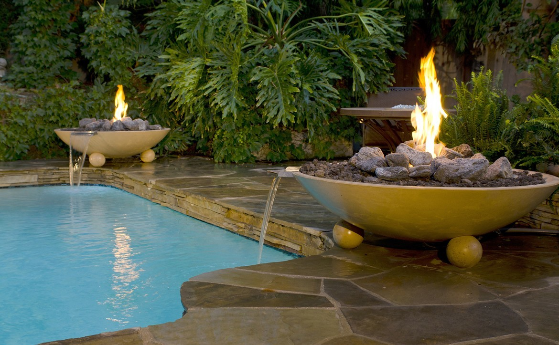 American Fyre Designs fire feature
