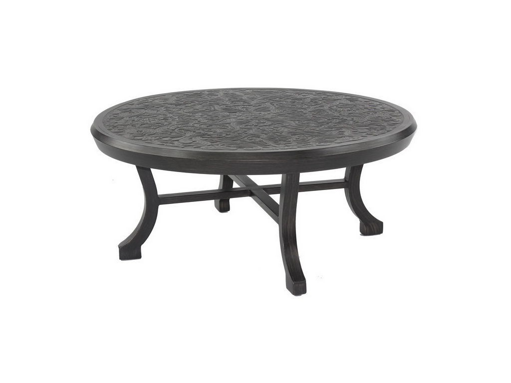 Chateau 42 Round Coffee Table Hauser 39 S Patio