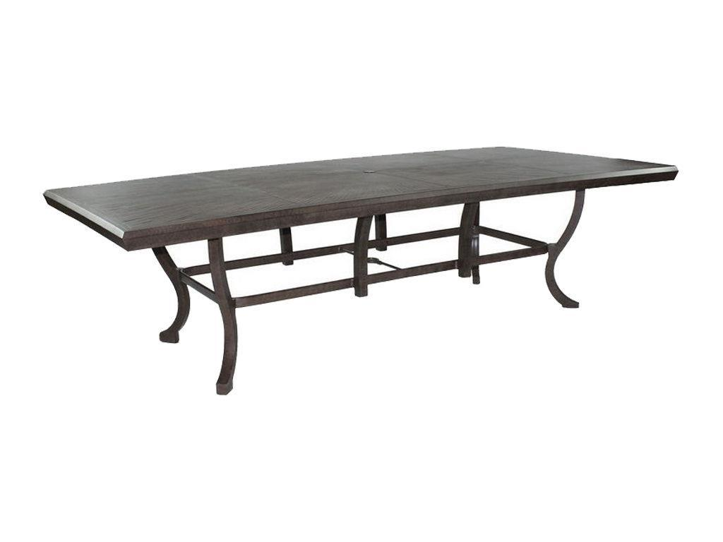 chateau 54 x 108 rectangular dining table hauser 39 s patio
