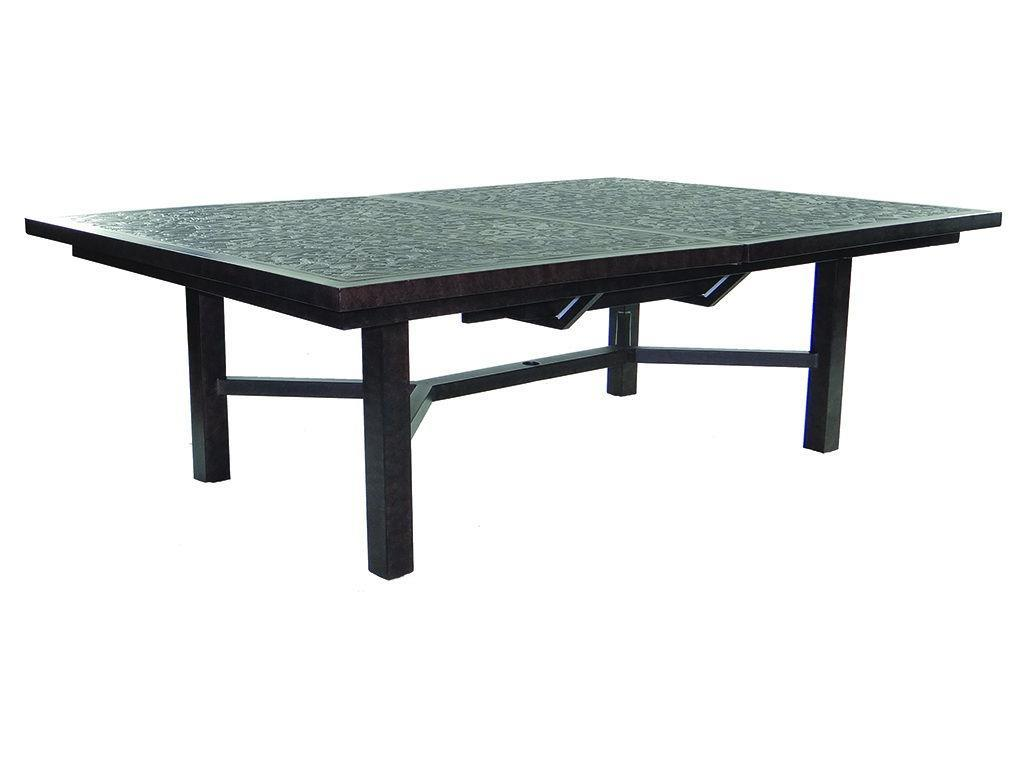 "60 Rectangular Glass Top Dining Table: Classical 60"" X 90"" Rectangular Extension Dining Table"