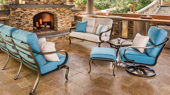 Tropitone Outdoor Furniture Commercial Grade And Effortless Sophistication