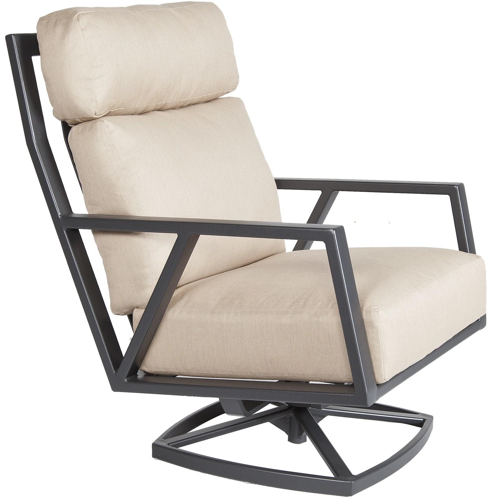 Picture of: Aris Swivel Rocker Lounge Chair Hauser S Patio