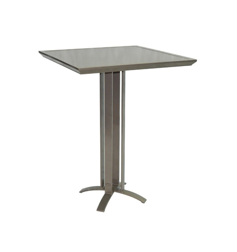Contemporary Ready To Emble Square Bar Table