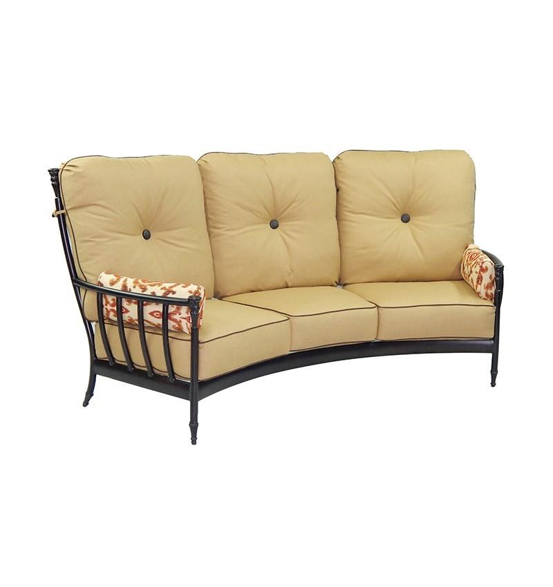 Provence Ultra High Back Crescent Sofa