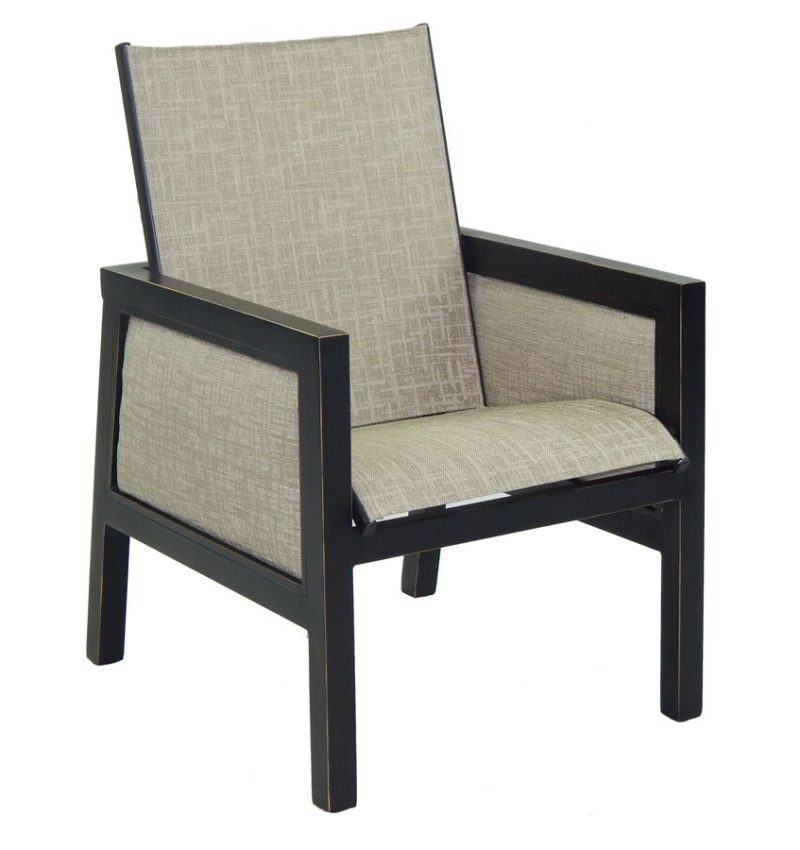 Gold Coast Sling Dining Chair Hauser S Patio
