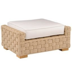 St. Barts collection ottoman