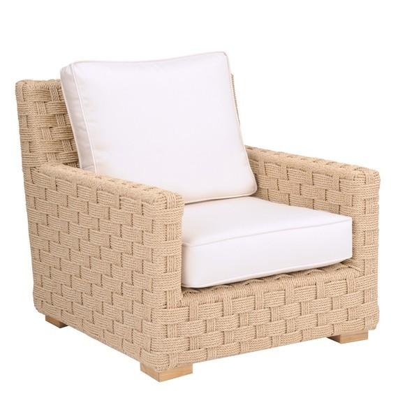 St Barts Deep Seating Lounge Chair Hemp Hauser S Patio